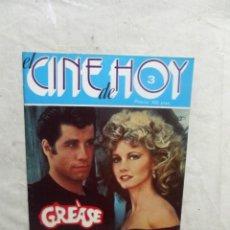 Cinema: EL CINE DE HOY Nº 3 GREASE . Lote 195028217