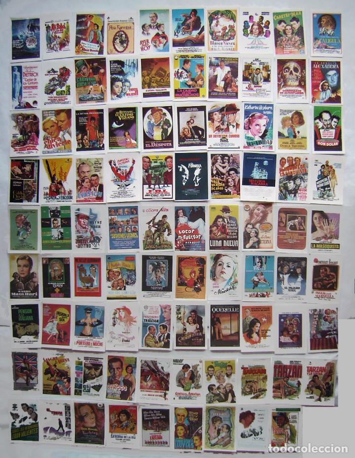 89 REPRODUCCIONES DE CARTELES EN PAPEL. (Cine - Reproducciones de carteles, folletos...)