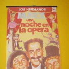 Cine: LOS HERMANOS MARX POSTER UNA NOCHE EN LA OPERA. Lote 195046692