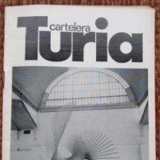 Cinema: CARTELERA TURIA Nº 844 - 1980 - ANDREU ALFARO. Lote 195068733