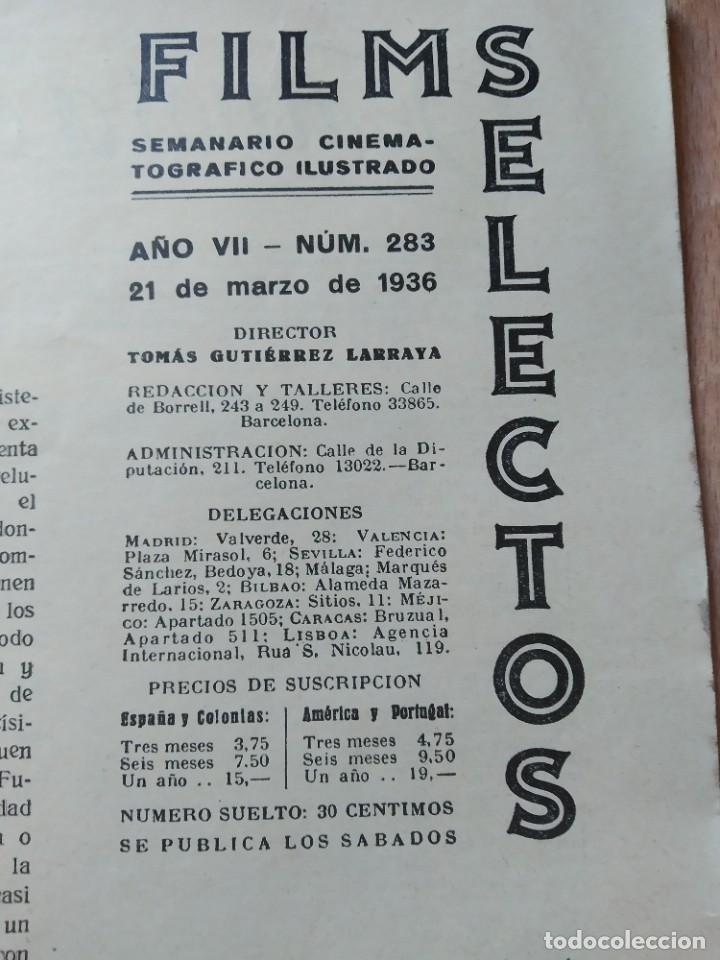 Cine: REVISTA Nº283 FILM SELECTOS - Foto 2 - 195102183