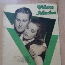 Cine: REVISTA Nº285 FILM SELECTOS. Lote 195102532