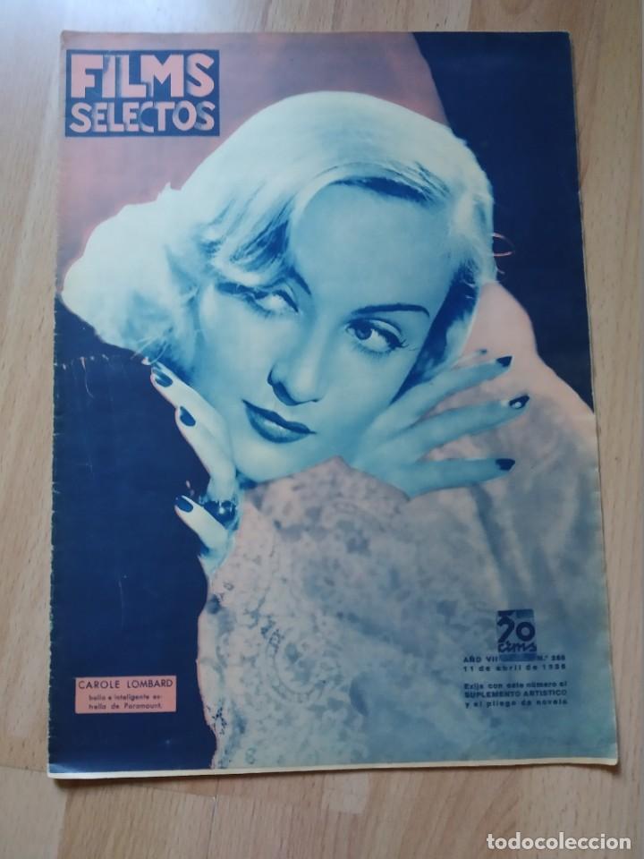 REVISTA Nº286 FILM SELECTOS (Cine - Revistas - Films selectos)