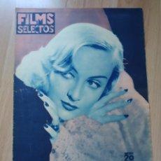 Cine: REVISTA Nº286 FILM SELECTOS. Lote 195102712
