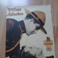 Cine: REVISTA Nº287 FILM SELECTOS. Lote 195102882