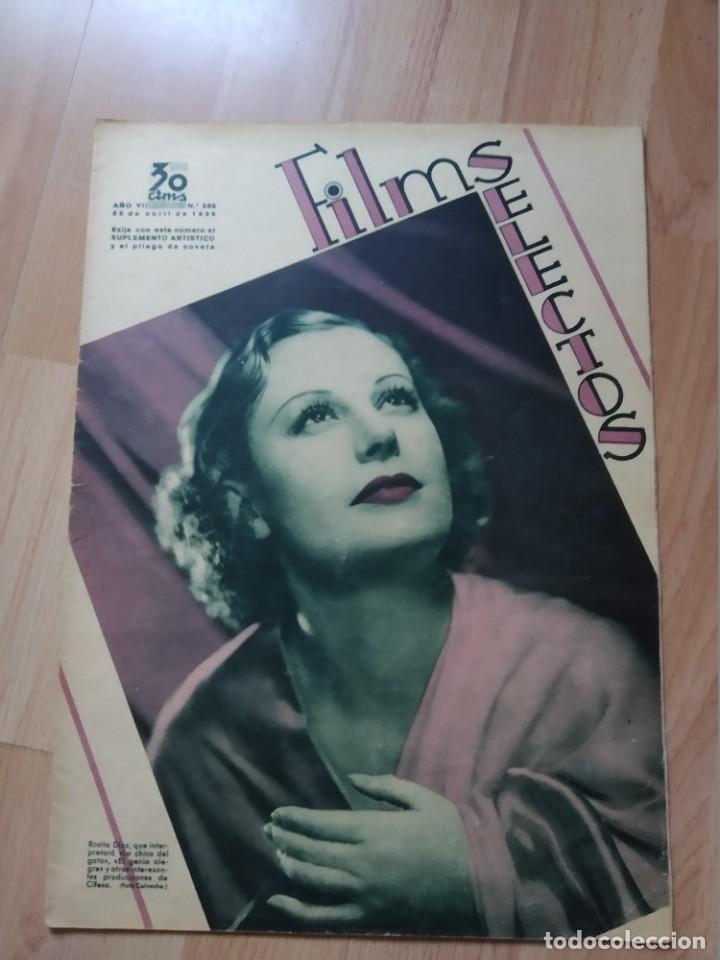 REVISTA Nº288 FILM SELECTOS (Cine - Revistas - Films selectos)