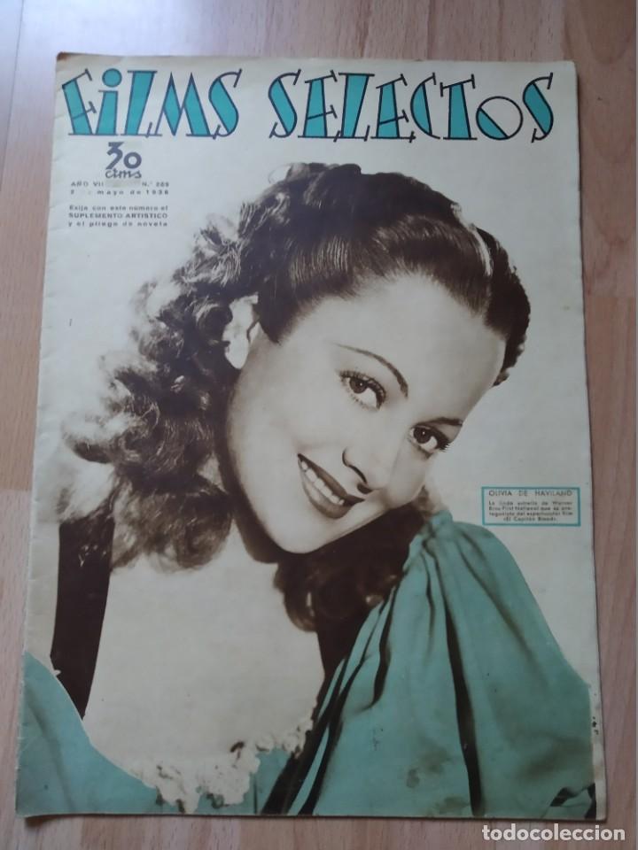 REVISTA Nº289 FILM SELECTOS (Cine - Revistas - Films selectos)