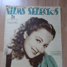 Cine: REVISTA Nº289 FILM SELECTOS. Lote 195103246
