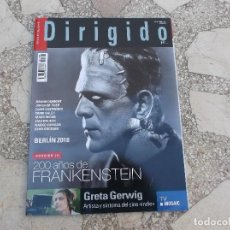 Cine: DIRIGIDO Nº 486. DOSSIER 200 AÑOS DE FRANKENSTEIN. GRETA GERWIN. THELMA. LA VIDA LLIURE. Lote 195121996