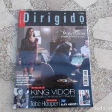 Cinema: DIRIGIDO POR Nº 484. DOSSIER KING VIDOR. TOBE HOOPER. MOLLY'S GAME. LOS ARCHIVOS DEL PENTAGONO. Lote 266765828