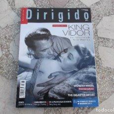 Cine: DIRIGIDO Nº 483. DOSSIER KING VIDOR. WONDER WHEEL. JAMES FRANCO. COCO, SUBURBICON. LA LIGA DE LA JUS. Lote 195123060