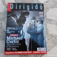 Cine: DIRIGIDO Nº 454. DOSSIER MICHAEL CURTIZ. NAOMI KAWASE. JAMES WAN. REGRESO A ITACA. EL CAPITAL HUMANO. Lote 195124230