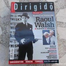 Cine: DIRIGIDO Nº 470, RAOUL WALSH, FILM NOIR, WESTERN. SULLY, CLINT EASTWOOD. SNOWDEN. TIM BURTON. Lote 195126371