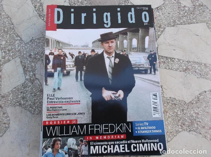 DIRIGIDO Nº 469. DOSSIER WILLIAM FRIEDKIN. MICHAEL CIMINO. EL PORVENIR. LOS HOMBRES LIBRES DE JONES. (Cine - Revistas - Dirigido por)