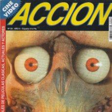 Cinema: REVISTA CINE Y VIDIO ACCION PORTADA NOS ATACAN LOS MARCIANOS 16 PROGRAMA DE CINE (SIN PORTERS). Lote 195144723