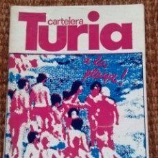 Cine: CARTELERA TURIA Nº 858 - 1980 . Lote 195162788