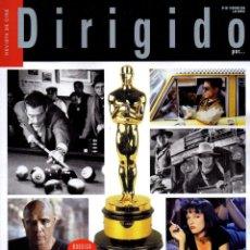 Cine: DIRIGIDO POR... N. 507 FEBRERO 2020 - EN PORTADA: OBRAS MAESTRAS QUE EL OSCAR OLVIDO (NUEVA). Lote 195174105
