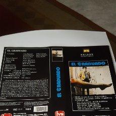 Cine: CARÁTULA VHS EL GRADUADO. Lote 195192177