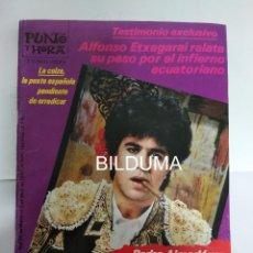 Cine: PUNTO Y HORA 1987 / PEDRO ALMODOVAR Y SU CINE TRAJO EL ESCANDALO . Lote 195147890