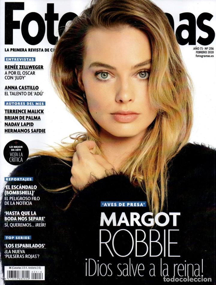 FOTOGRAMAS N. 2116 FEBRERO 2020 - EN PORTADA: MARGOT ROBBIE (NUEVA) (Cine - Revistas - Fotogramas)