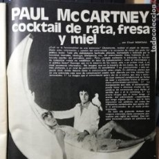 Cine: PAUL MCCARTNEY. THE BEATLES. REVISTA COMPLETA. Lote 195300262