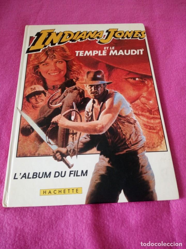 INDIANA JONES ET LE TEMPLE MAUDIT L'ALBUM DU FILM STORYBOOK 1984 LUCASFILM,FRANCES (Cine - Revistas - Acción)