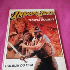 Cine: INDIANA JONES ET LE TEMPLE MAUDIT L'ALBUM DU FILM STORYBOOK 1984 LUCASFILM,FRANCES. Lote 195335823