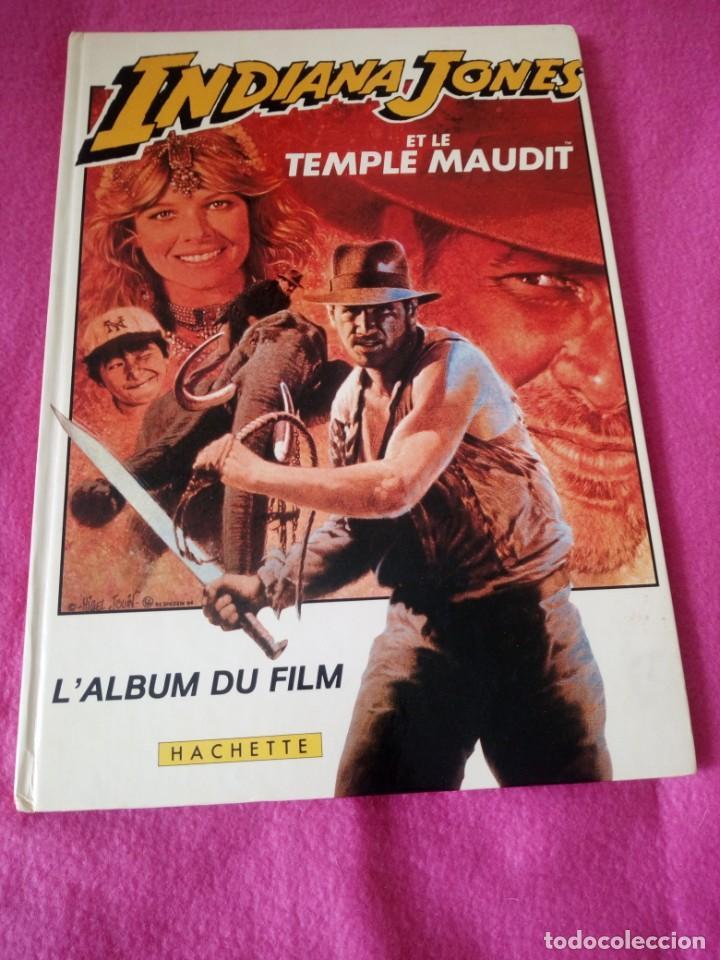 Cine: INDIANA JONES Et Le Temple Maudit Lalbum du Film Storybook 1984 Lucasfilm,frances - Foto 2 - 195335823
