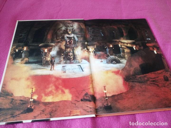 Cine: INDIANA JONES Et Le Temple Maudit Lalbum du Film Storybook 1984 Lucasfilm,frances - Foto 3 - 195335823