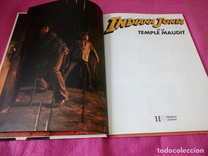 Cine: INDIANA JONES Et Le Temple Maudit Lalbum du Film Storybook 1984 Lucasfilm,frances - Foto 4 - 195335823