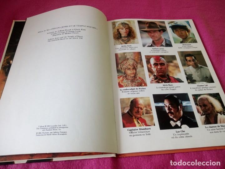 Cine: INDIANA JONES Et Le Temple Maudit Lalbum du Film Storybook 1984 Lucasfilm,frances - Foto 5 - 195335823
