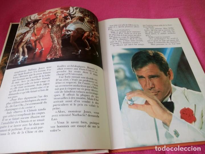 Cine: INDIANA JONES Et Le Temple Maudit Lalbum du Film Storybook 1984 Lucasfilm,frances - Foto 7 - 195335823
