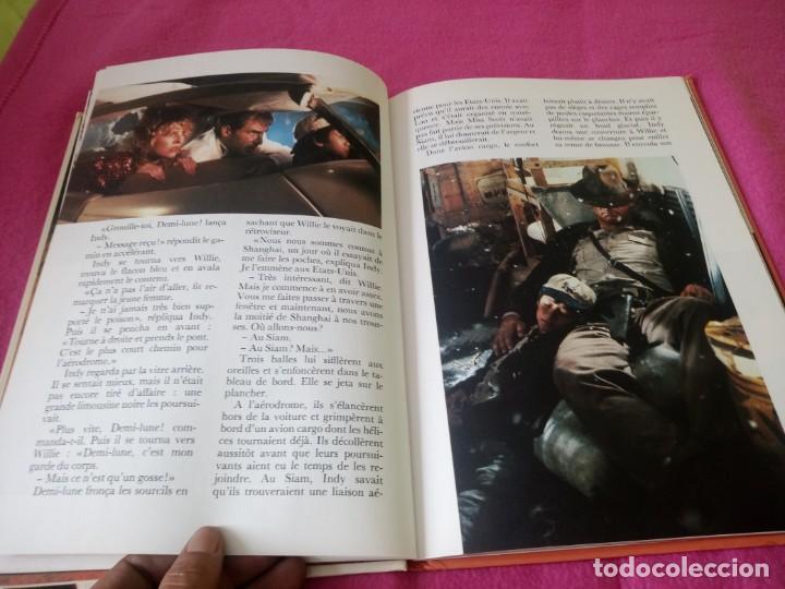 Cine: INDIANA JONES Et Le Temple Maudit Lalbum du Film Storybook 1984 Lucasfilm,frances - Foto 8 - 195335823