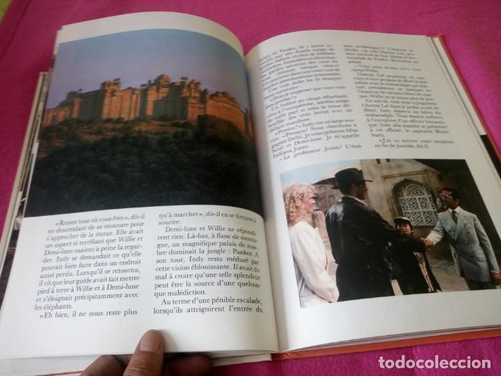 Cine: INDIANA JONES Et Le Temple Maudit Lalbum du Film Storybook 1984 Lucasfilm,frances - Foto 9 - 195335823