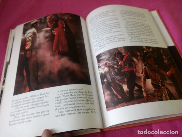 Cine: INDIANA JONES Et Le Temple Maudit Lalbum du Film Storybook 1984 Lucasfilm,frances - Foto 11 - 195335823
