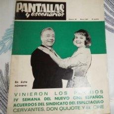 Cine: PANTALLAS Y ESCENARIOS REVISTA N.º 69 MARZO 1967 IV SEMANA CINE ESPAÑOL ROCIO DURCAL . Lote 195339066