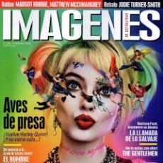 Cine: IMAGENES DE ACTUALIDAD N. 409 FEBRERO 2020 - EN PORTADA: AVES DE PRESA (NUEVA). Lote 204670898