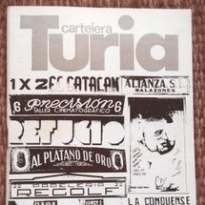 Cine: CARTELERA TURIA Nº 730 - 1978. Lote 195455230