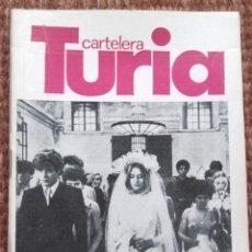 Cine: CARTELERA TURIA Nº 773 - 1978. Lote 195457707