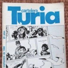 Cine: CARTELERA TURIA Nº 868 - 1980. Lote 195457986