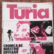 Cine: CARTELERA TURIA Nº 869 - 1980. Lote 195458031