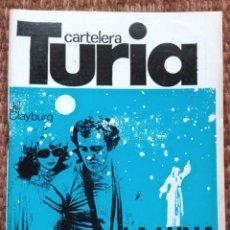 Cine: CARTELERA TURIA Nº 837 - 1980. Lote 195458097