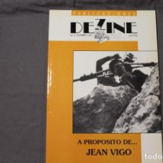 Cine: A PROPÓSITO DE... JEAN VIGO. PUBLICACIONES DEZINE. Nº 2 / DICIEMBRE 1990. Lote 195483235