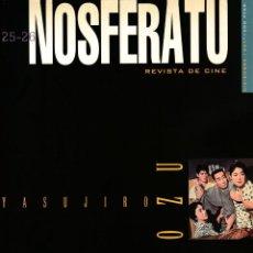 Cine: REVISTA NOSFERATU Nº 25-26 (NÚMERO DOBLE) - YASUJIRO OZU - DICIEMBRE 1997. Lote 195517490