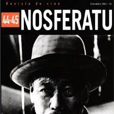 Cinema: REVISTA NOSFERATU Nº 44-45 (NÚMERO DOBLE) - AKIRA KUROSAWA - DICIEMBRE 2003. Lote 195518290