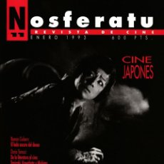 Cine: REVISTA NOSFERATU Nº 11 - CINE JAPONÉS - ENERO 1993. Lote 195518450