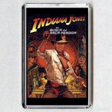 Cinema: IMAN ACRÍLICO NEVERA - INDIANA JONES (EN BUSCA DEL ARCA PERDIDA). Lote 195577690