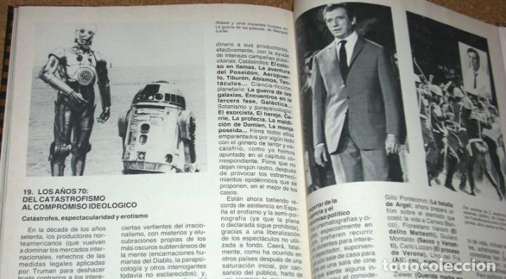 Cine: LA HISTORIA DEL CINE EN SUS ETAPAS MAS SIGNIFICATIVAS 1979 127 PG -IMPORTANTE LEER ENVIO Y VER FOTOS - Foto 2 - 195632662