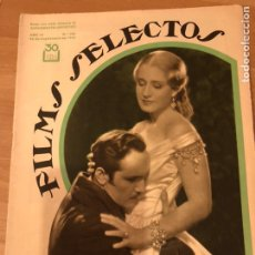 Cinéma: REVISTA FILMS SELECTOS SEPT 1933 NORMA SHEARER FREDRIC MARCH,BRIGITTE HELM,GEORGE RAFT,KAY FRANCIS. Lote 195671818