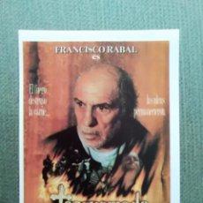 Cine: PROGRAMA DE CINE TORQUEMADA. Lote 195701028